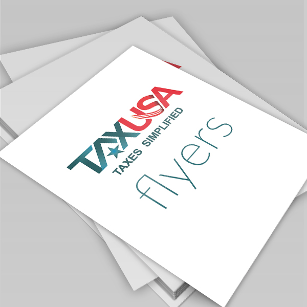 tax usa flyers